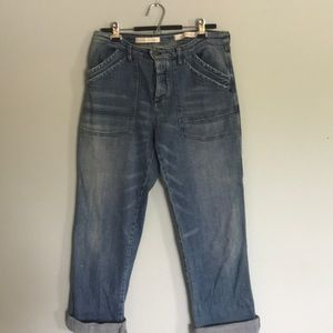 Anthropologie Cropped Jeans NWOT